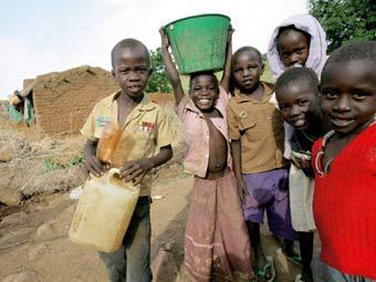 Суданские дети. Фото ©AFP