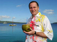 """Новозеландский премьер отказался извиняться за """"дурную"""" шутку телеведущего"""