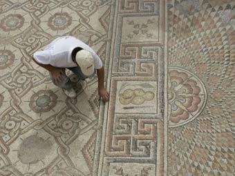 Мозаика в Иерихоне. Фото ©AP
