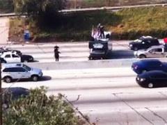 Американских рокеров арестовали за концерт посреди автострады