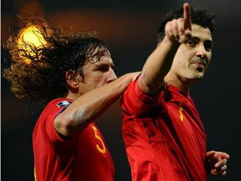 Новость на Newsland: Давид Вилья побил снайперский рекорд сборной Испании.
