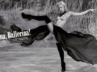 Венской балерине простили фотосессию в мужском журнале
