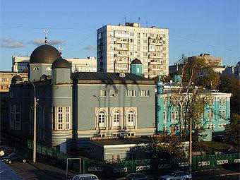 Московская соборная мечеть. Фото с сайта xrams.narod.ru