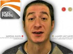 Телеведущий разделся в эфире по примеру Саакашвили