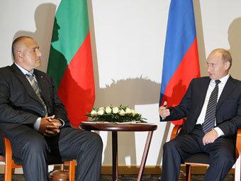 Бойко Борисов и Владимир Путин. Фото с сайта premier.gov.ru