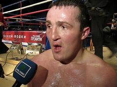 Денис Лебедев- интервью перед боем