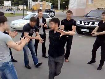 Лезгинка. Кадр из распространенной в интернете видеозаписи