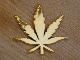 Немецких наркополицейских одели в форму с изображением марихуаны