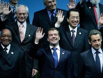 Дмитрий Медведев на саммите G20. Фото с сайта kremlin.ru