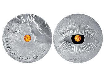 Банк Латвии снова выпустил уникальную серию монет