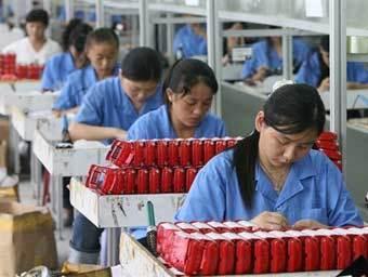В сентябре прибыль китайских промышленных предприятий снизилась на 0,1% в годовом исчислении