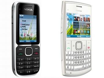 Nokia выпустила два бюджетных мобильника