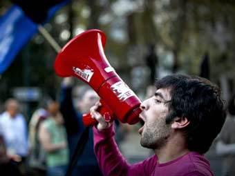 picture Самая массовая забастовка за последние 20 лет началась в Португалии