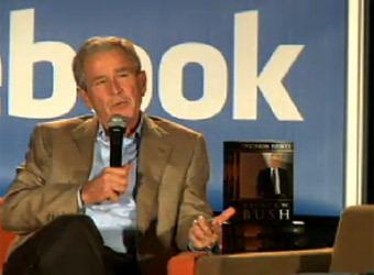picture Марк Цукерберг взял интервью у экс-президента США Джорджа Буша