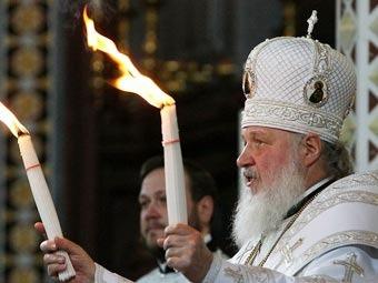 Патриарх Кирилл. Фото ©AFP