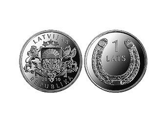 Латвия снова планирует заработать на выпуске монет