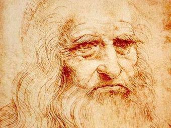 Предполагаемый автопортрет Леонардо да Винчи.