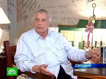 Юрий Любимов. Кадр телеканала НТВ