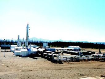 Сахалинское газовое месторождение. Фото с сайта sakhalin.ru