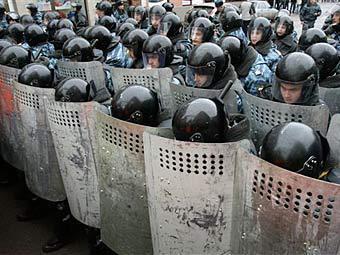 Московские омоновцы взбунтовались против начальства.