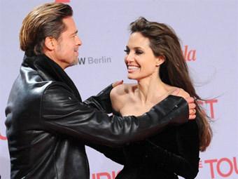 Брэд Питт и Анджелина Джоли. Фото ©AFP