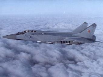 МиГ-31. Фото с сайта airbase.ru