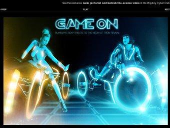 Скриншот сайта Playboy