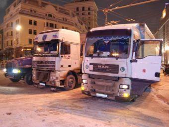 Московская милиция не дала дальнобойщикам провести
