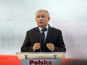Ярослав Качиньский. Фото ©AFP