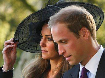 Кейт Миддлтон и принц Уильям. Фото ©AFP