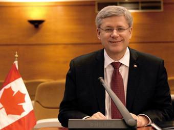 Премьер-министр Канады Стивен Харпер. Фото ©AFP