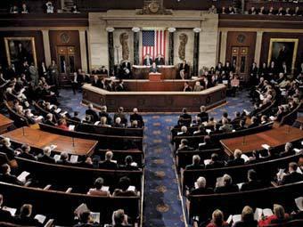 Заседание Конгресса США. Фото ©AP