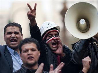 Сторонники оппозиции в Каире. Фото ©AFP