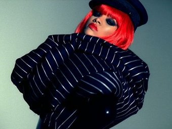 Рианна, фото с сайта исполнительницы