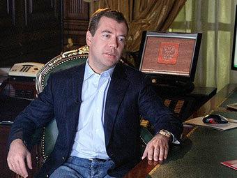 Медведев лучший блогер
