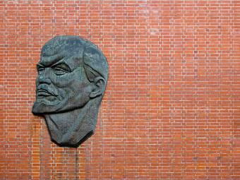 Барельеф Ленина на улице Беренштрассе. Фото пользователя flemma с сайта flickr.com