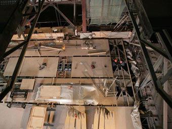 Реконструкционные работы в здании Большого театра. Фото с сайта bolshoi.ru