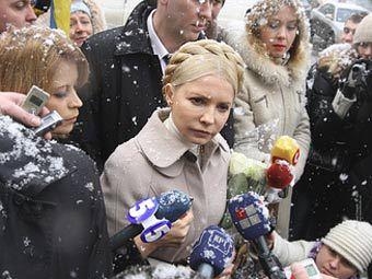 Юлия Тимошенко. Фото c сайта tymoshenko.ua