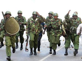 Кенийский спецназ. Фото ©AFP