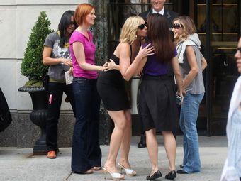 """Актрисы из """"Секса в большом городе"""". Фото с сайта картины"""