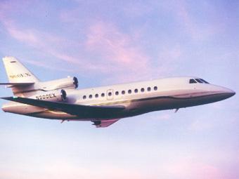Самолет Dassault Falcon 900EX. Изображение с сайта aerospace-technology.com