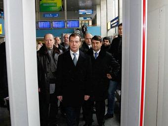 Дмитрий Медведев. Фото пресс-службы президента РФ