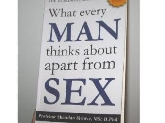 """Обложка книги """"О чем все мужчины думают помимо секса"""". Фото с сайта amazon.com"""