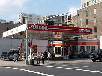 "АЗС ""Лукойл"" в США. Фото пресс-службы компании"