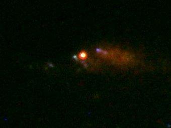 GRB 100316D/SN 2010bh. Фото Hubble