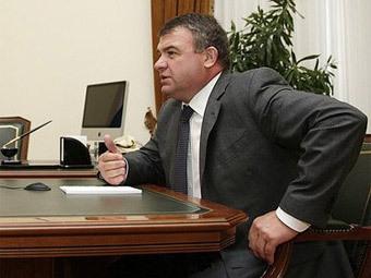 Анатолий Сердюков. Фото пресс-службы президента РФ