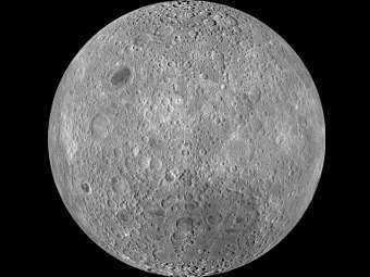 Обратная сторона Луны. Изображение NASA/GSFC/Arizona State University