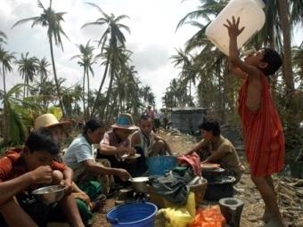 Пострадавшие в Мьянме. , архив.