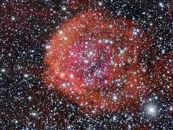 Астрономы сфотографировали космическую розу