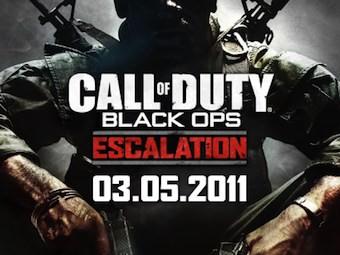 Фрагмент рекламного баннера Black Ops: Escalation
